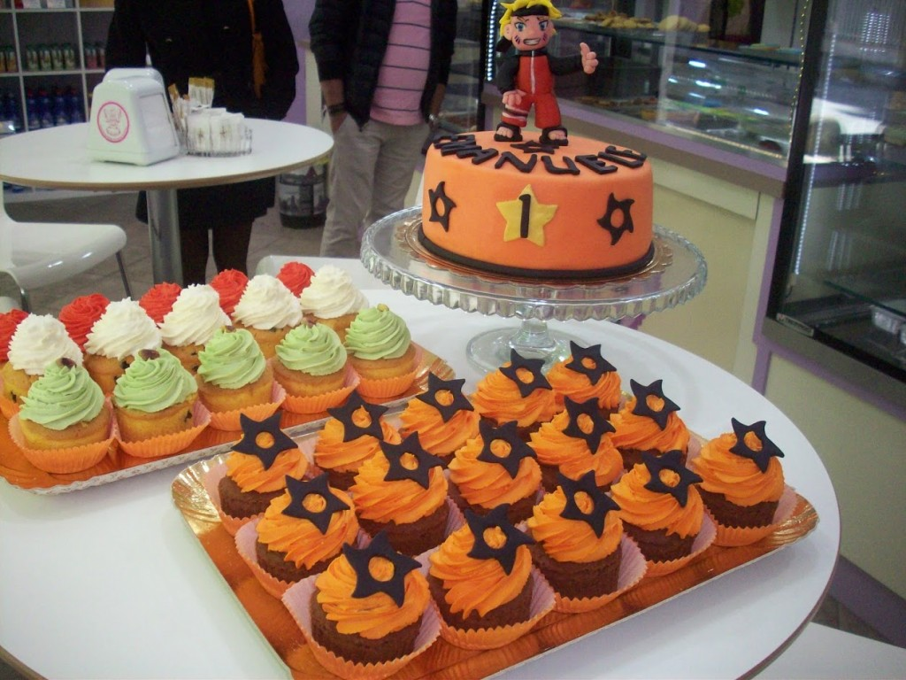 Sweet Table di Naruto